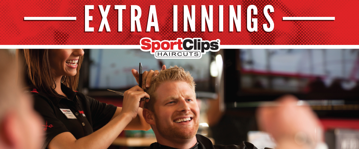 The Sport Clips Haircuts of Ohio Valley Mall at St. Clairsville Extra Innings Offerings