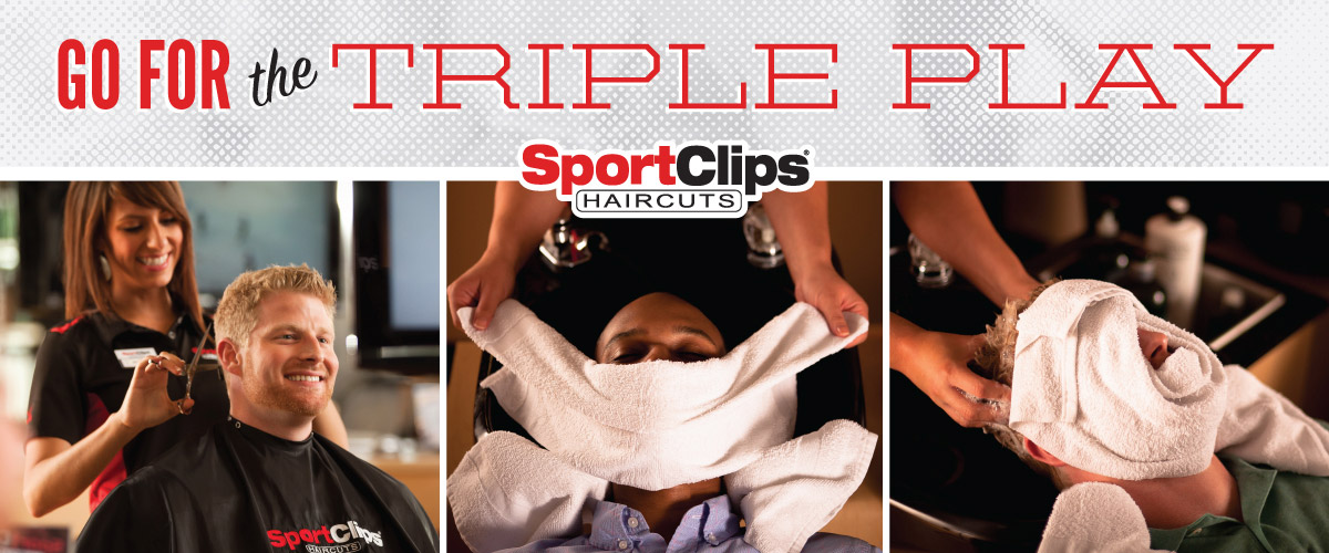 The Sport Clips Haircuts of Ohio Valley Mall at St. Clairsville Triple Play